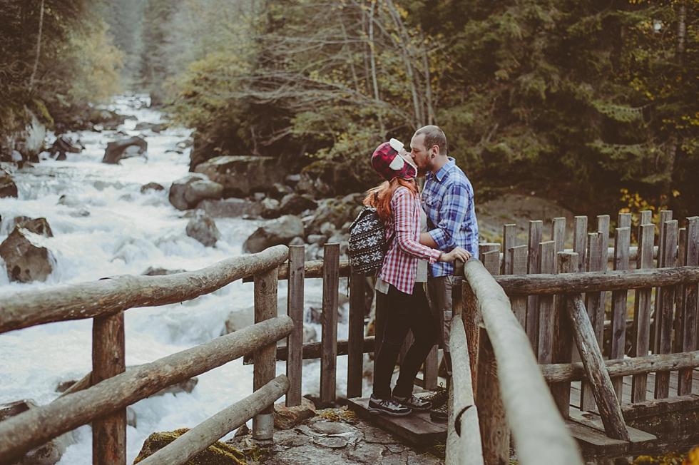 Trento wedding photographer, Niccolò & Marina – Waterfall engagement session – Trento wedding photographer