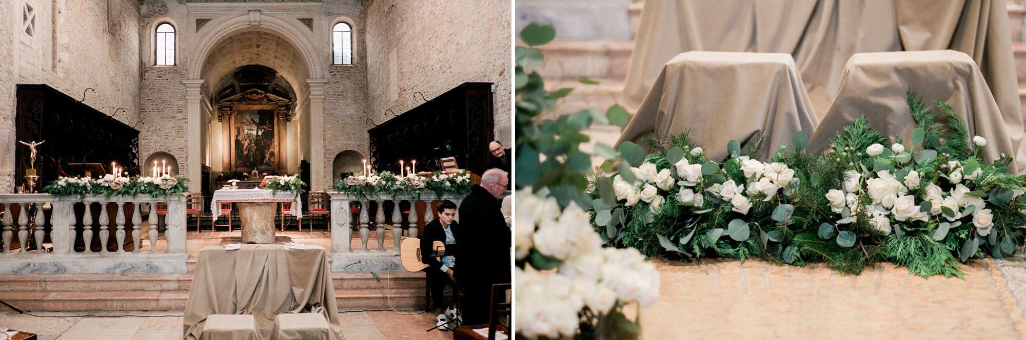 Christmas wedding in Verona