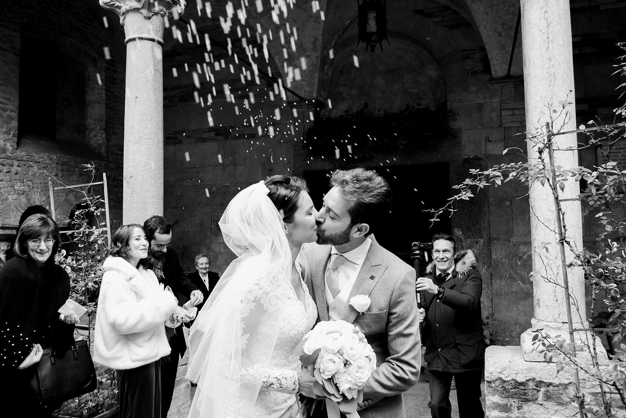 Christmas wedding in Verona