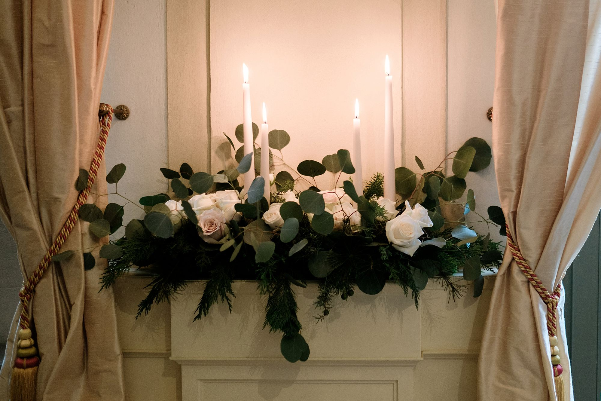 Christmas wedding at Palazzo Verità Poeta